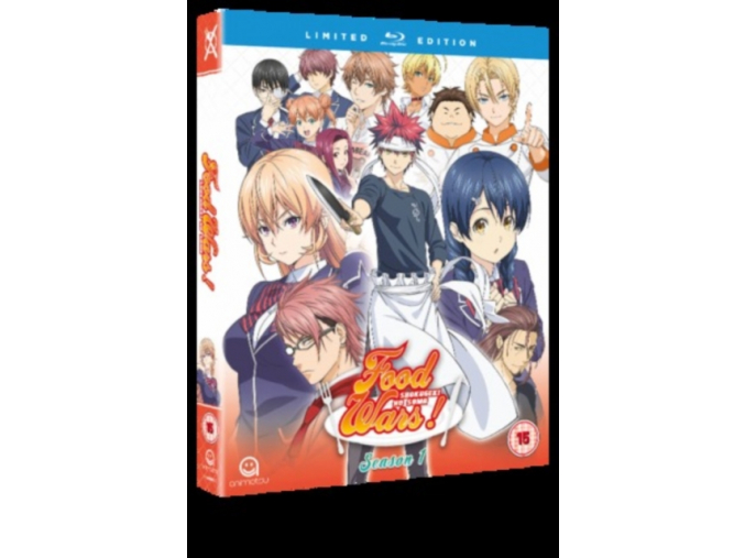 Food Wars! Season 1 (Episodes 1-24) - Blu-ray Collector's Edition (Blu-ray)