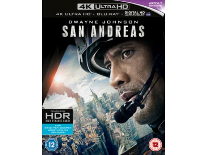 San Andreas (4K Ultra HD Blu-ray) [2016]