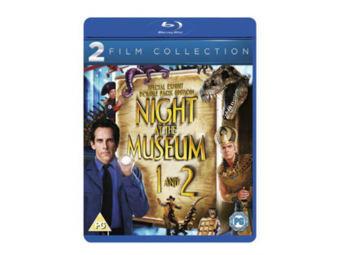 Night At The Museum/ Night At The Museum 2 - Boxset (Blu-Ray)