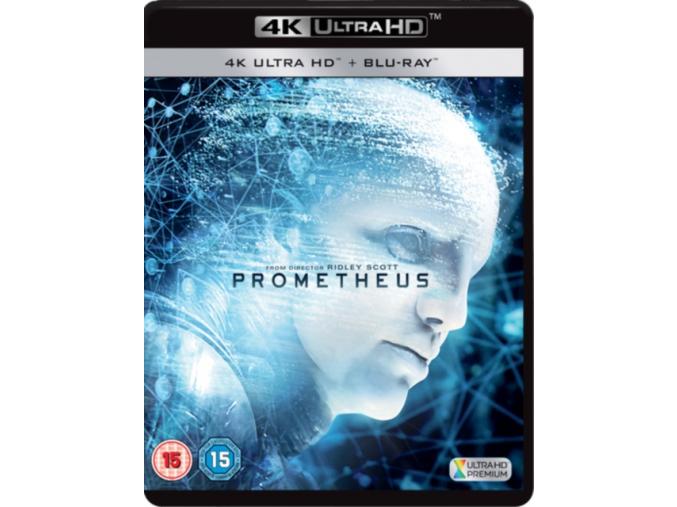 Prometheus (Includes Digital HD UV) [Blu-ray] [2012] (Blu-ray)