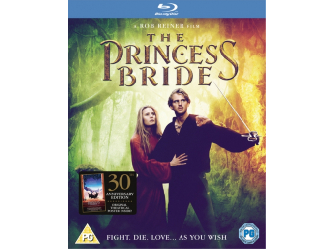 The Princess Bride 30th Anniversary Edition [Blu-ray] (Blu-ray)