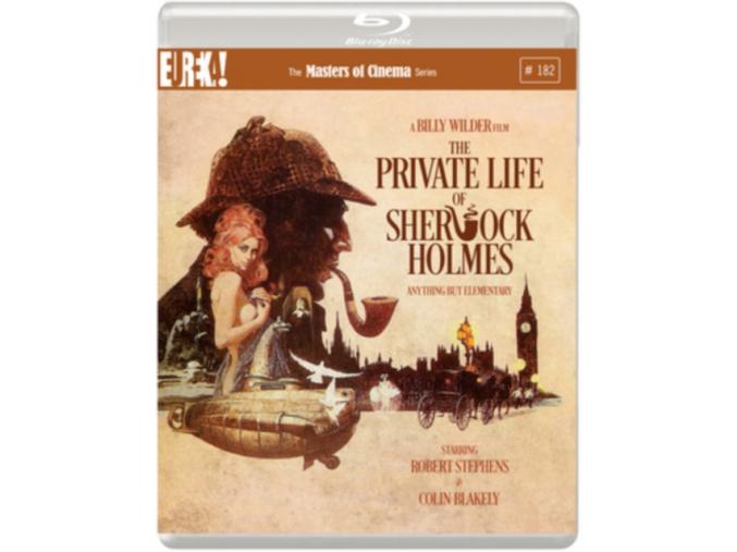 The Private Life of Sherlock Holmes (1970) (Masters of Cinema) Blu-ray (Blu-ray)
