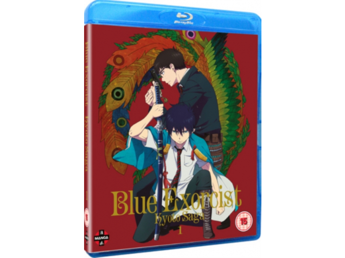 Blue Exorcist (Season 2) Kyoto Saga Volume 1 Blu-ray (Episodes 1-6) (Blu-ray)