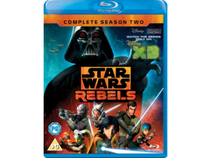 Star Wars: Rebels - Season 2 [Blu-ray] [Region Free] (Blu-ray)