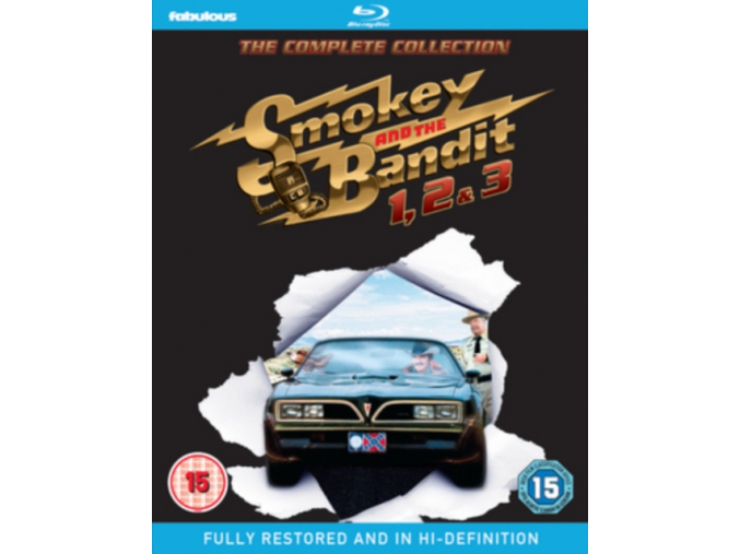 Smokey and the Bandit 1  2 & 3 - The Complete Collection (Blu-ray)