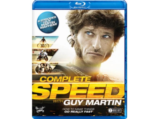 Guy Martin - Complete Speed (Blu-ray)