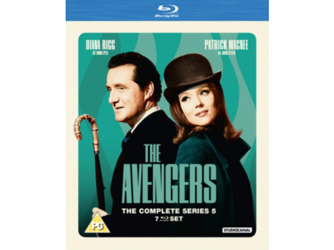 The Avengers: The Complete Series 5 [Blu-ray]