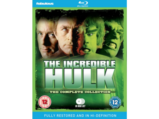 The Incredible Hulk: The Complete Collection [Blu-ray] (Blu-ray)