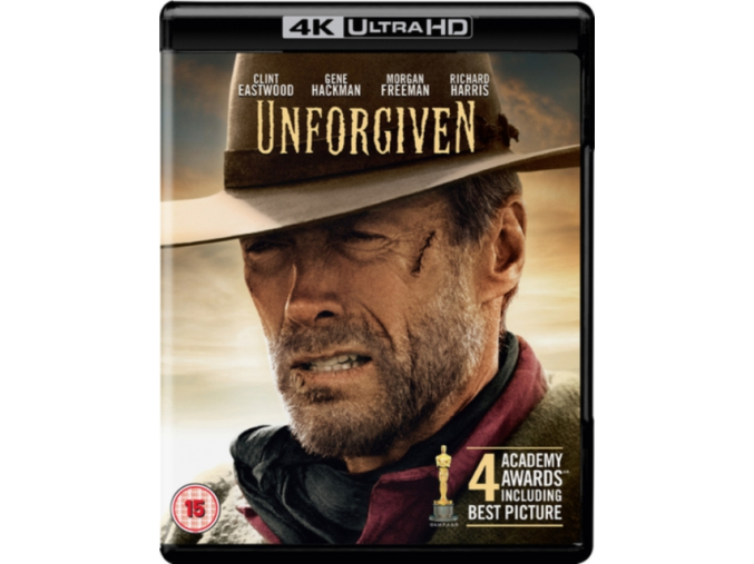 Unforgiven [Includes Digital Download] [Blu-ray] [2017] (Blu-ray)