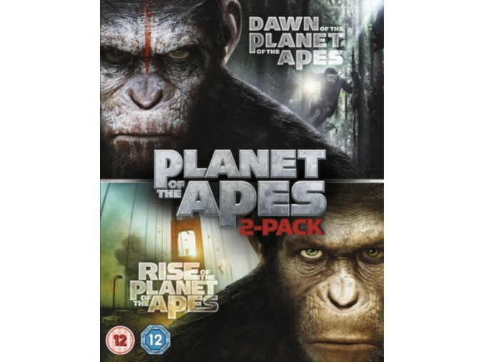 Dawn of the Planet of the Apes / Rise of the Planet of the Apes [Double Pack] [Blu-ray]