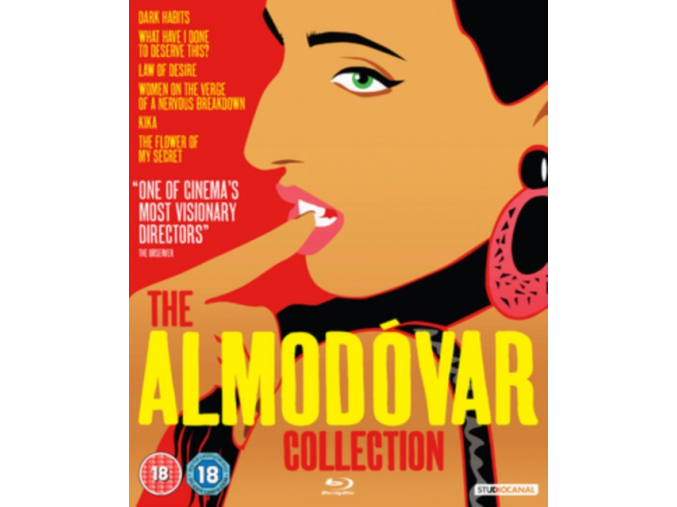 Almodóvar Collection [Blu-ray] (Blu-ray)