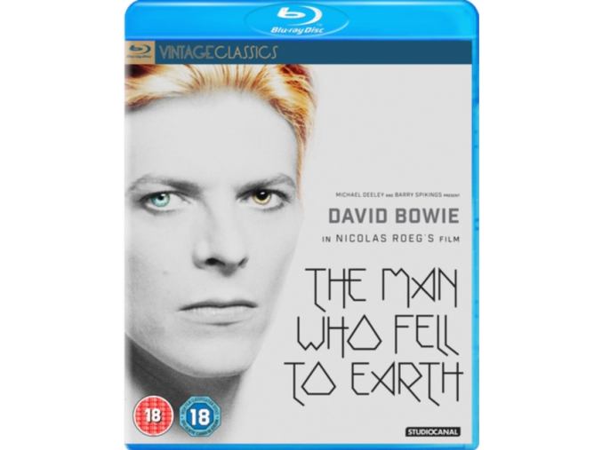 The Man Who Fell To Earth (40th Anniversary) [Blu-ray] (Blu-ray)
