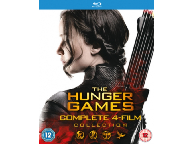 The Hunger Games - Complete Collection [Blu-ray]