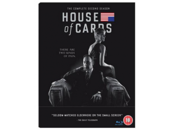 House Of Cards - The Complete Season 2 (Blu-ray)