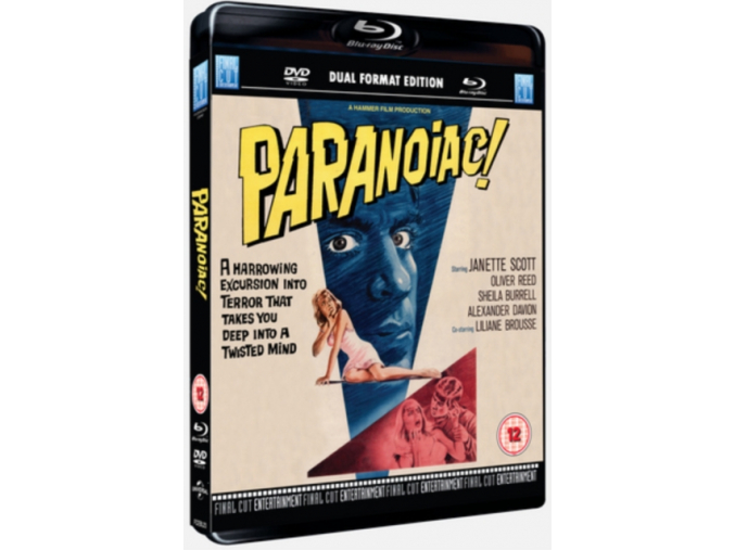 Paranoiac (Dual Format Edition) [Blu-ray]