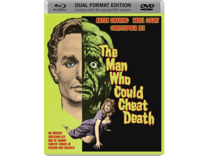 The Man Who Could Cheat Death (1959) Dual Format (Blu-ray & DVD)