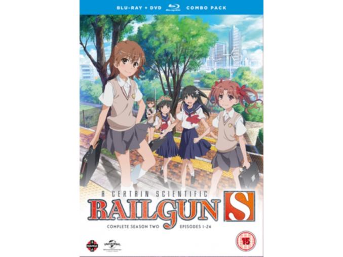 A Certain Scientific Railgun Complete Season 2 Collection (Episodes 1-24) Blu-ray/DVD Combo (Blu-ray)