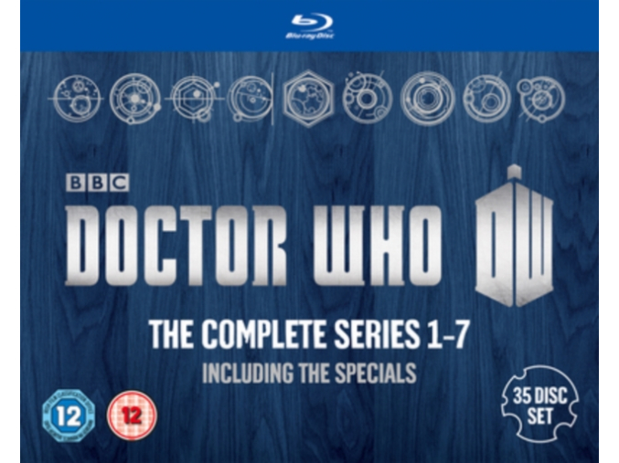 Doctor Who: The Complete Box Set - Series 1-7 (Blu-ray)