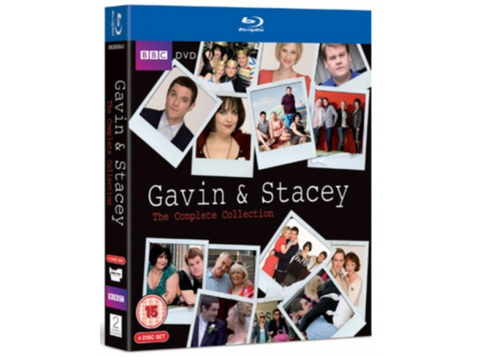 Gavin And Stacy - Series 1-3 And 2008 Christmas Special (Blu-Ray)