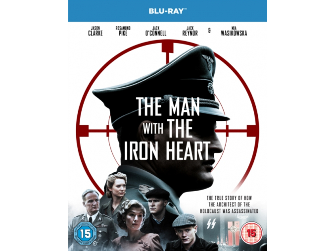 The Man With the Iron Heart [Blu-ray] [2017] (Blu-ray)
