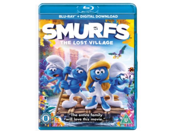 Smurfs: The Lost Village [Blu-ray] [2017] [Region Free] (Blu-ray)