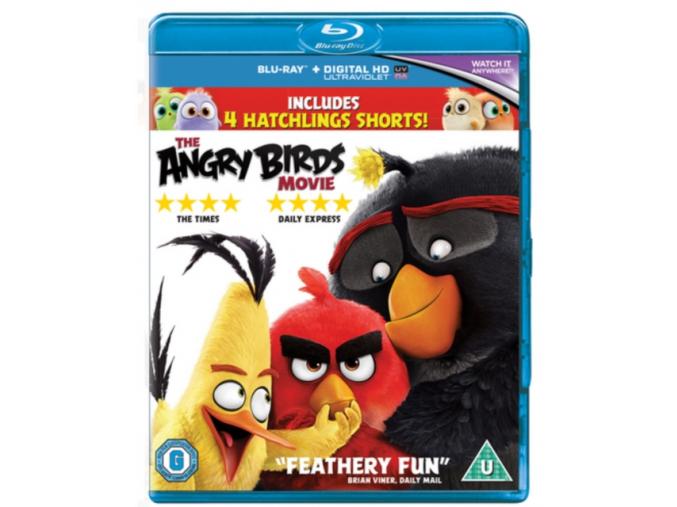 The Angry Birds Movie (Blu-ray)