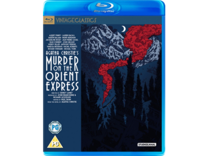 Murder On The Orient Express [Blu-ray] (1974)