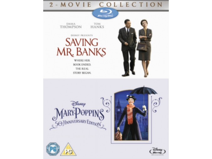 Saving Mr Banks & Mary Poppins (Blu-Ray)