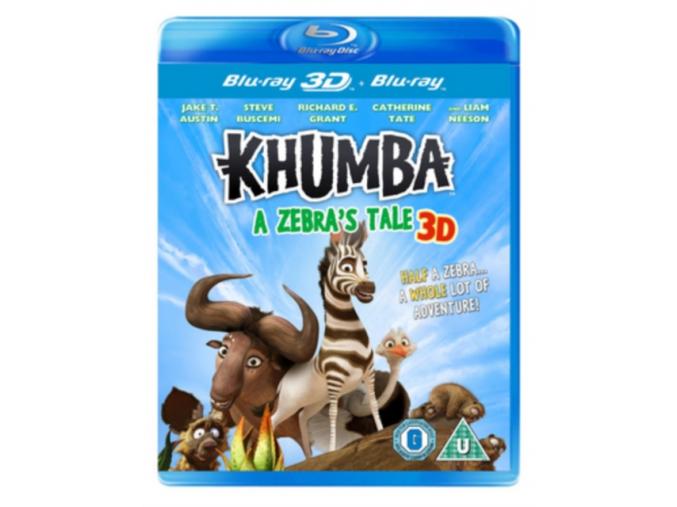 Khumba: A Zebra's Tale (Blu-Ray 3D + Blu-Ray)
