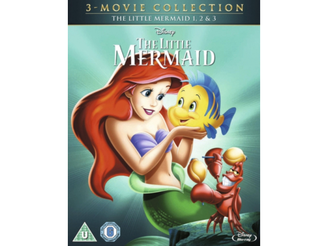 The Little Mermaid Boxset (1  2 & 3) (Blu-ray)