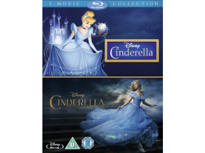 Cinderella Double Pack (Blu-ray)