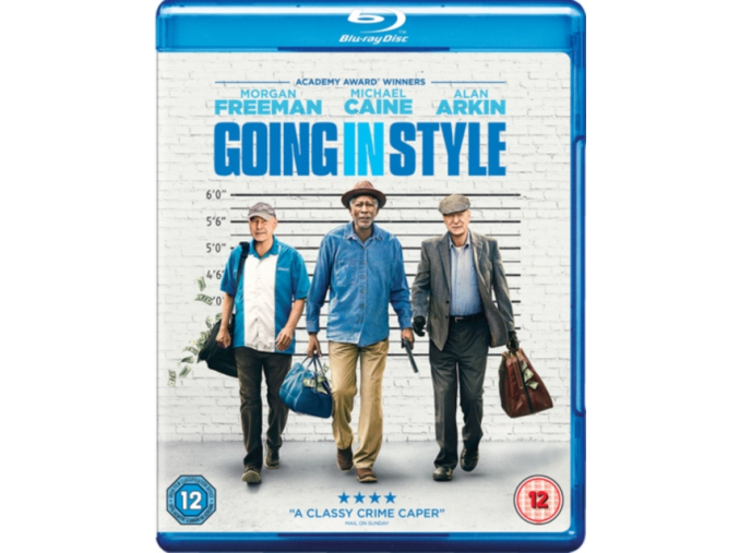 Going In Style [Blu-ray + Digital Download] [2017] (Blu-ray)