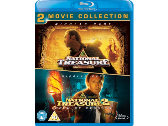 National Treasure 1 & 2 Double Pack (Blu-ray)