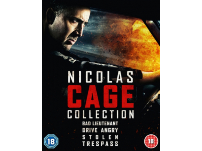 Nicholas Cage 4 Film Pack [Blu-ray]