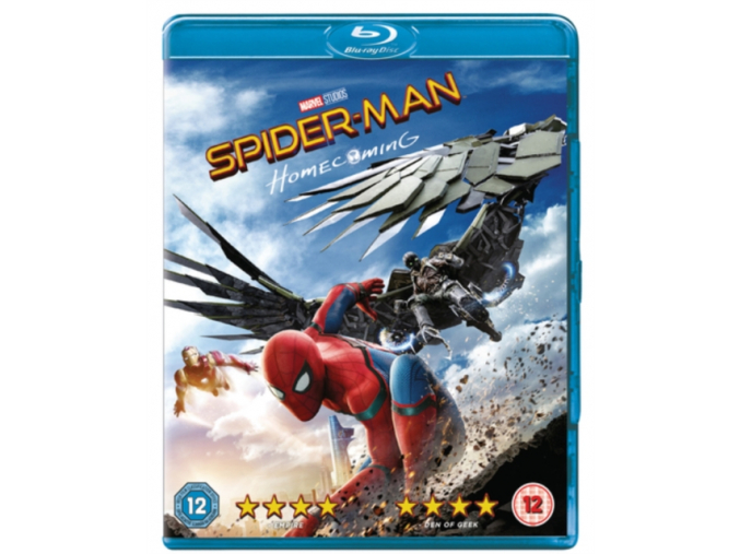 Spider-man Homecoming [Blu-ray] [2017] [Region Free] (Blu-ray)