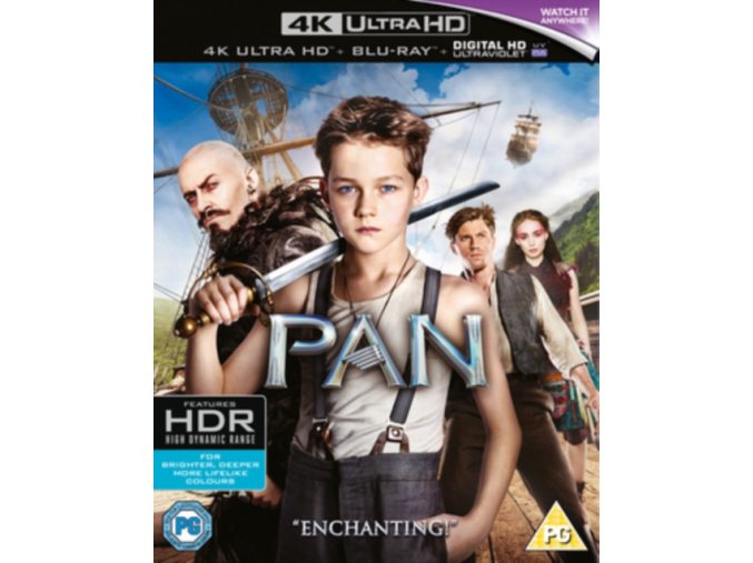Pan (4K Ultra HD Blu-ray)