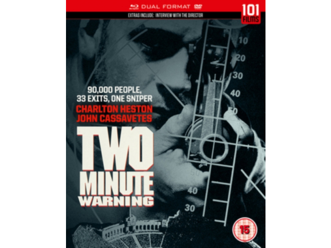Two Minute Warning (Dual Format) [Blu-ray]