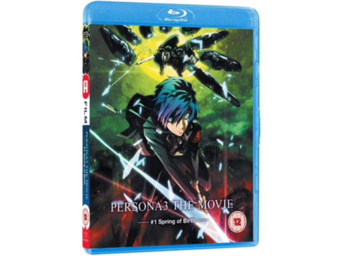 Persona3 Movie 1 - Standard BD with Limited Edition Collectors Case [Blu-ray]