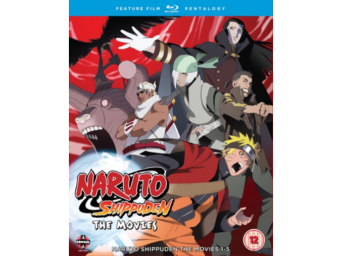 Naruto - Shippuden Movie Pentalogy (Blu-ray)