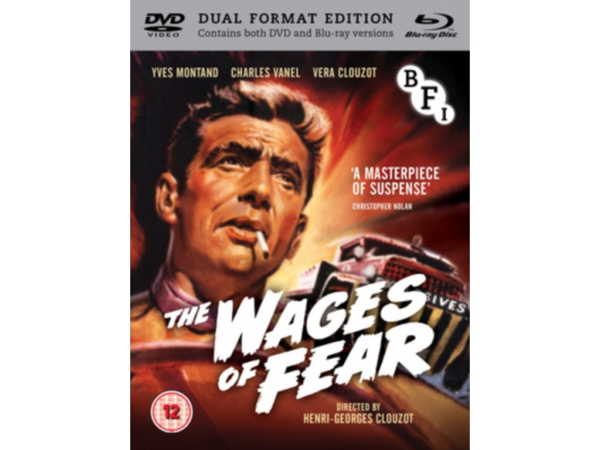 The Wages of Fear (Limited Edition Dual Format) [DVD]