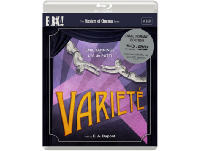 Variety (Masters of Cinema) (Dual Format) (Blu-ray + DVD)