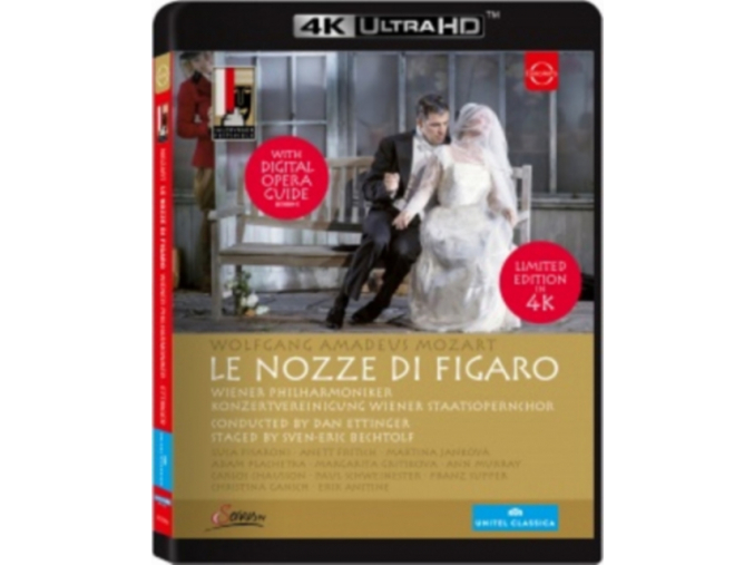 Le nozze di Figaro - 4k Ultra HD Bluray (Blu-ray disc) [2016] (Blu-ray)