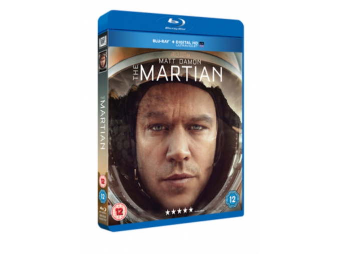 The Martian [Blu-ray + UV Copy]