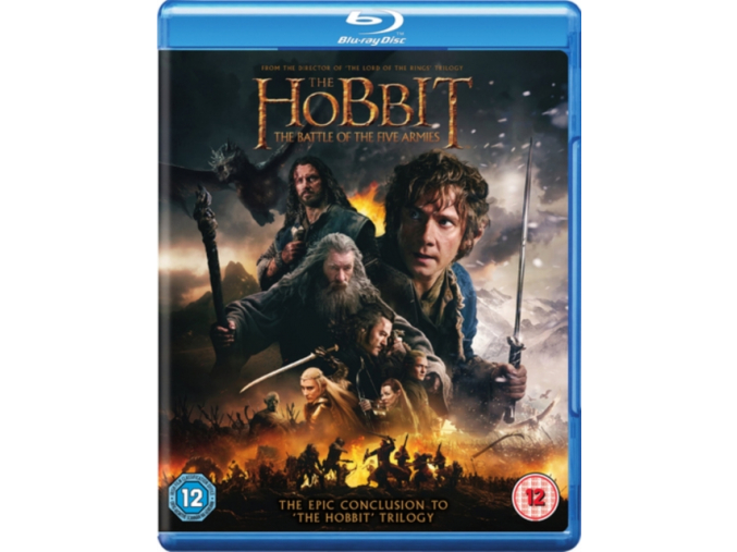 The Hobbit: The Battle of the Five Armies (Blu-ray) (Region Free)