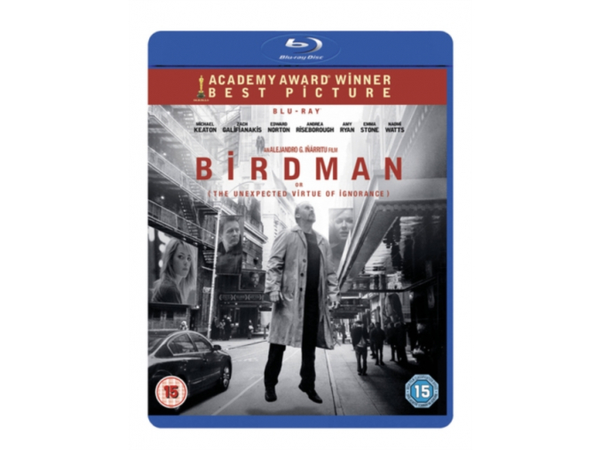 Birdman (The Unexpected Virtue of Ignorance) [Blu-ray + UV Copy]