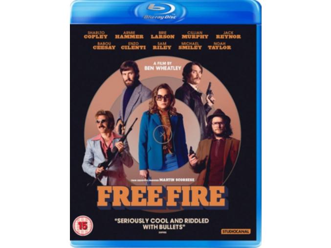 Free Fire [Blu-ray] [2017] (Blu-ray)