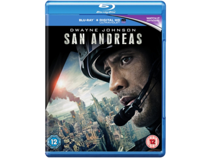 San Andreas [Blu-ray] [2015] [Region Free] (Blu-ray)