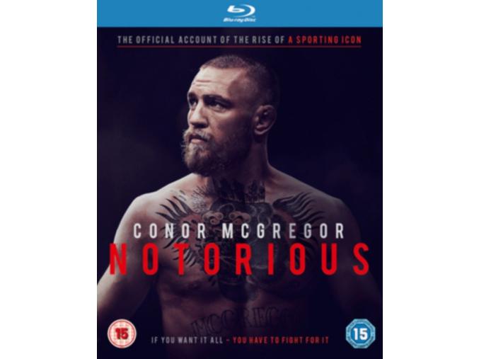 Conor McGregor - Notorious (Official Film) (Blu-ray)