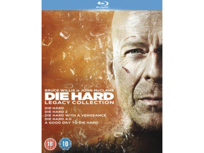 Die Hard: Legacy Collection (Films 1-5) (Blu-ray)