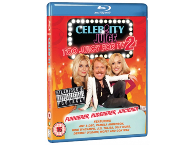 Celebrity Juice - Too Juicy for TV 2! (Blu-ray)